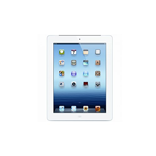Apple iPad with Retina Display MD513LL/A (16GB, Wi-Fi, White) 4th Generation (Certified Refurbished) (Apple Ipad 4th Generation Wifi)