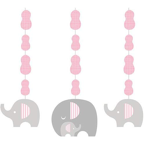 Baby Elephant Cut Out (Creative Converting 317224 Decorations Dangling, 36