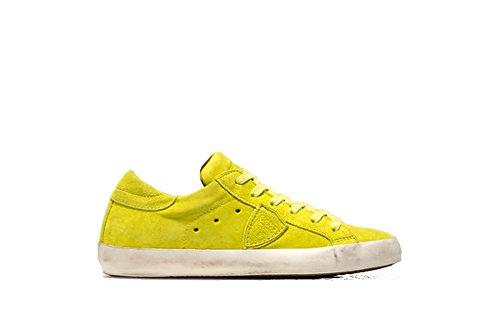 Philippe Model Damen Sneaker giallo flou