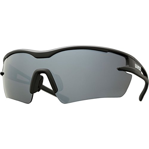 Uvex Sportstyle 116 Sunglasses Black Matte, One Size - - Uvex Sunglasses