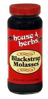 House Of Herbs Molasses Blackstrap, 16 Oz (Pack of 3)