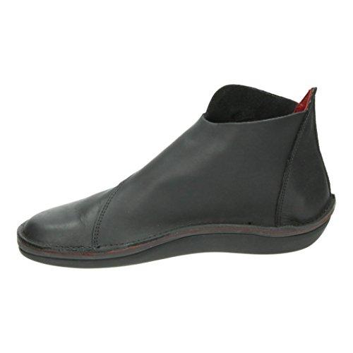 Pour Holland Femme Character Chaussures Loints Of Schwarz Bateau a578qwXFn