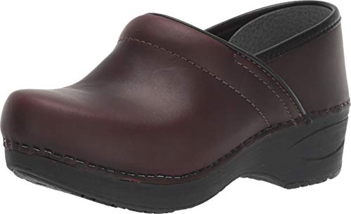 Dansko Women's Xp 2.0 Clog (37 Regular EU, Brown Waterproof Pull Up)