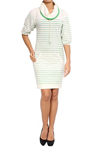 Diesel - Cotton Dress DEVYON - Green, XXS ()