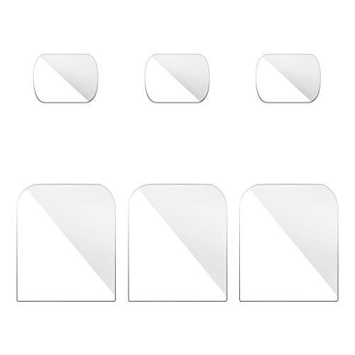 JPJ(TM)6Pcs Hot Creative Flexible Fiberglass Lens/Screen Protective Film for DJI OSMO Pocket Camera