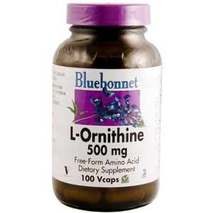 L-Ornithine 500mg - 100 - Capsule