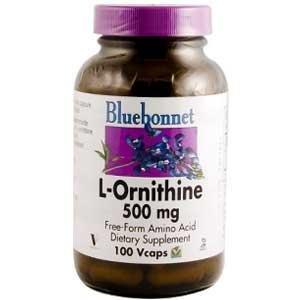 L-Ornithine 500mg - 100 - Capsule