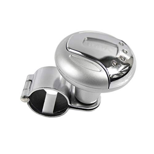 Automobiles & Motorcycles Car Steering Wheel Spinner Knob Auxiliary Booster Aid Handle Knob Black Newly E Strong Packing