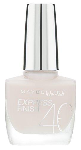 Maybelline New York Make-Up Nailpolish Express Finish Nagellack Rose Rush / Ultra schnelltrocknender Farblack in sanftem Rosè, 1 x 10 ml