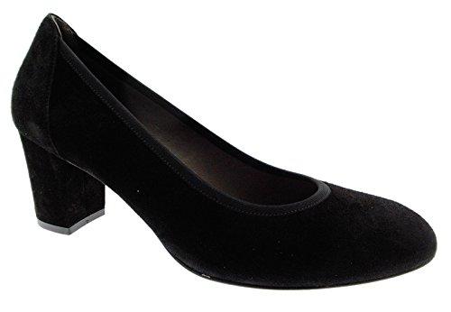 Daim de decolt D5095A Chaussures Femme MELLUSO Noir en Classique Hx0qEgCw