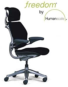 Amazon.com: Humanscale Freedom Task Chair, Graphite Frame ...