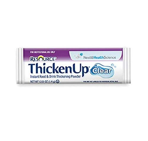 Resource ThickenUp Instant Food Thickeners, Clear PWD 1.4g, 288 EA