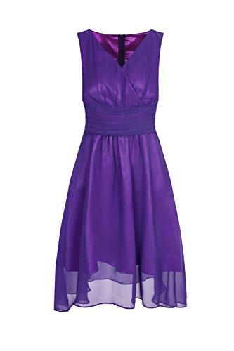 ROBLORA -  Vestito  - Vestito  - Senza maniche  - Donna viola viola