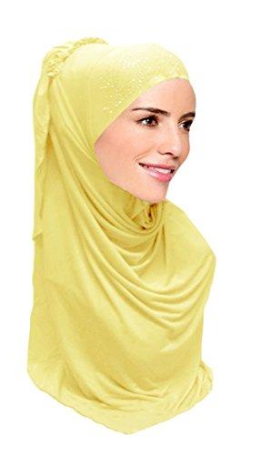 Hanas Womens piece Layered Hijab