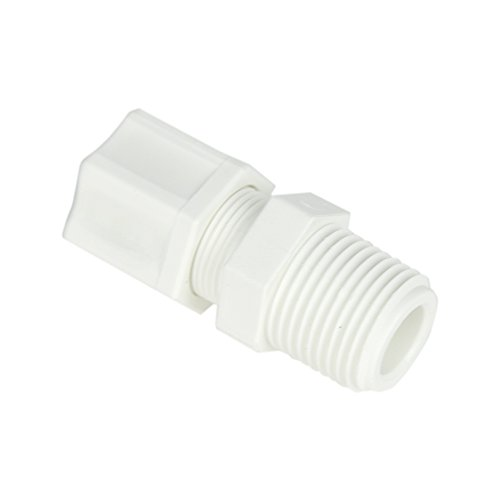 Jaco Enterprises 1/2inch OD Tube x 1/2inch MPT Polypropylene Male Connector