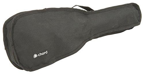 chord SU21-BK Gig Bag for 21-Inch Concert Ukulele – Black