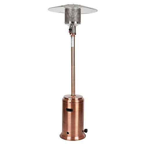 Fire Sense Copper Finish Patio Heater Copper Portable Patio Heater