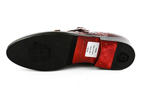 Rouge Femme 1005 amp; Hamilton MH15 Mocassins Rot pour Melvin 4pw7ZYq0p
