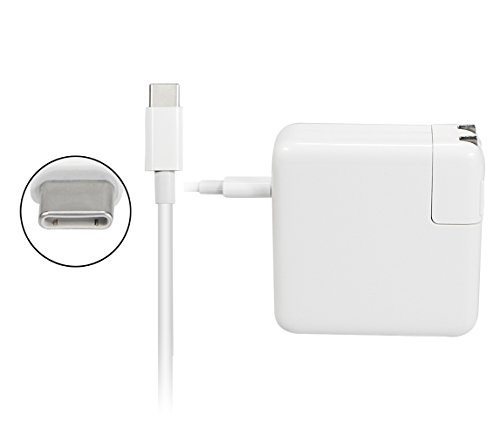 HUSAN 61W USB-C Power Adapter for Apple MacBook Pro 13 Inch