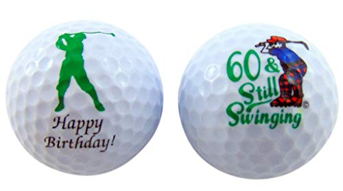 Westman Works 60th Birthday Golf Balls Gift Pack for for Golfers