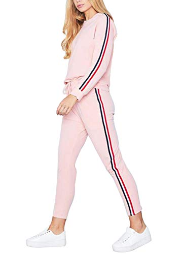 Just For Future Long Sleeve Tracksuit Sweatsuit Set