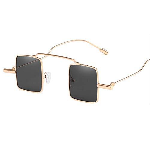 Surdimensionné Dames De Lunettes UV400 Goldframegray Soleil Couleur pour De Multi Facultative Mode Les 100 qIqBw4x