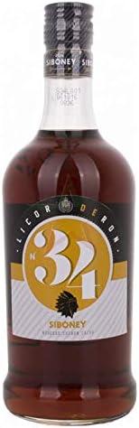 Ron Siboney N° 34 Licor de Ron 34% - 700 ml: Amazon.es ...