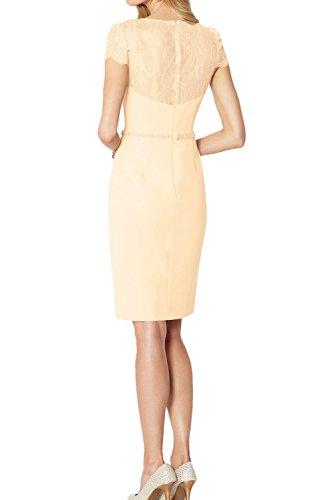 Neu Modisch Partykleider Cocktailkleider Damen Abendkleider Kurzarm Lilac 2017 Spitze Ivydressing mit Rund d5q70d