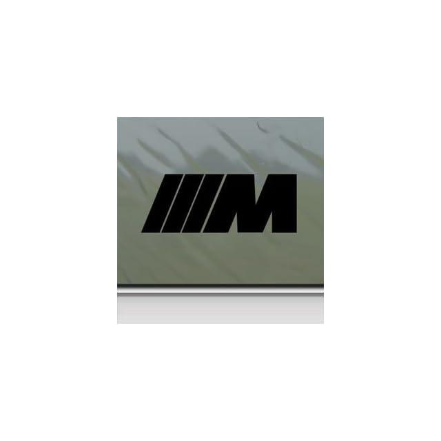Bmw Black Sticker Decal M3 325I X5 745 M5 325 E46 E34 Black Car Window Wall Macbook Notebook Laptop Sticker Decal