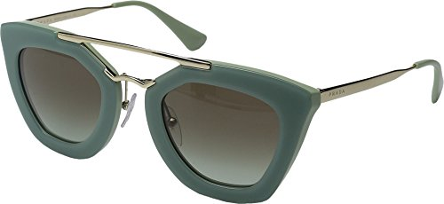 Prada Women's SPR09Q Cinema Sunglasses, Green