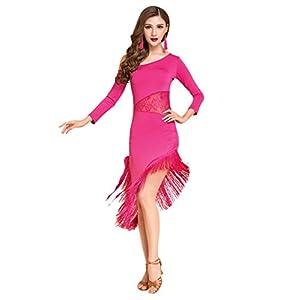 Latin Dance vestido con flecos