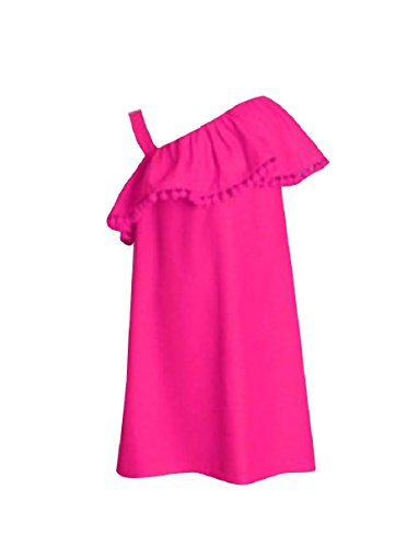 Coolred Family Pink Short Women Me Dresses Mommy One and Shoulder Clothes xpx74wan