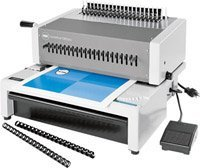GBC-C800-Ibico EPK-21 Electric Comb Punch-Bind machine by GBC