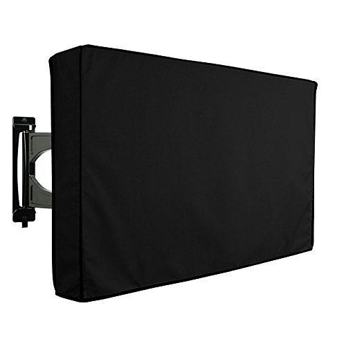 New KIKIGOAL Outdoor TV Cover for 30-32 40-42 50-52 55-58 Waterproof TV Protector Compatible...