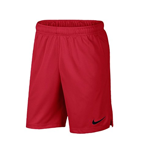 Nike Men's Dri-Fit Woven Basketball Shorts Red/Black 897155-687 (X-Large)