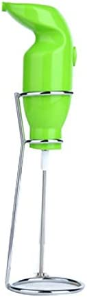 Chennie Haushalts Mini Mixer Handheld Elektrische Milchaufschäumer Eggbeater Milchkaffeemixer Schwarz EU-Stecker