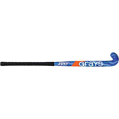 GRAYS Surf 500 Beginner Junior Field Hockey Stick (Blue, 36 inches)
