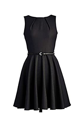 iLover Women's 1950s Style Rockabilly Swing Vintage Dresses Party Dress