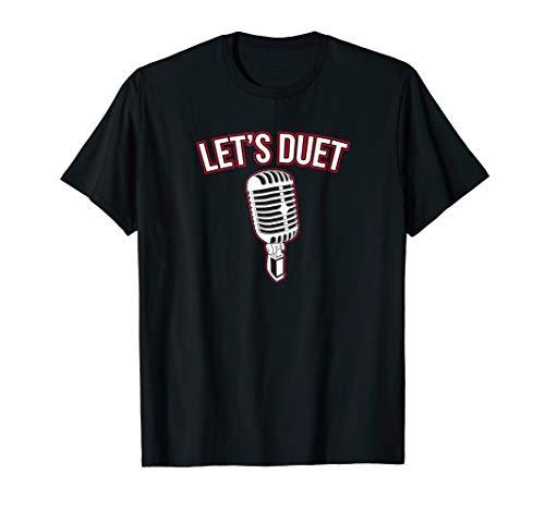 Choir Singing Vocal Coach Duet Radio DJ Singer T-Shirt