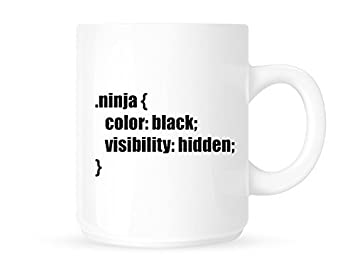 Amazon.com: .ninja - Fun Programmer/CSS/designer - Tea ...