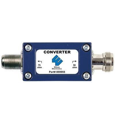 859955 - 50 to 75 OHM Converter 75 Ohm Converter