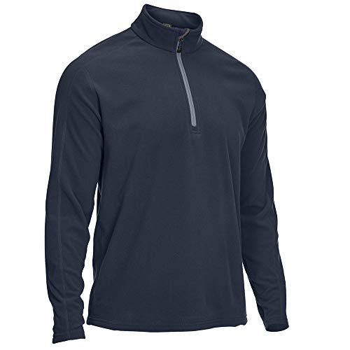 EMS Men's Classic Micro Fleece A¬-Zip Blue Nights XL