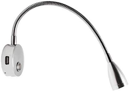 Contine /Éclairage int/érieur de van caravane bateau Lumi/ère chaude Spot LED 12 V Interrupteur de lecture Port USB 5 V//2 A pour camping-car