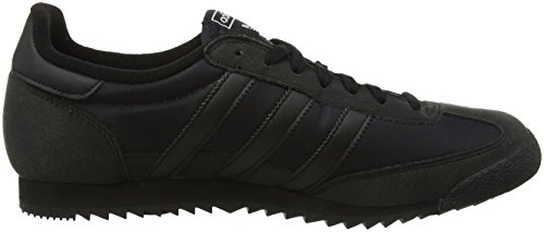 Adidas Unisex-erwachsene Dragon Og Sneakers Schwarz (core Black / Core Black / Core Black)