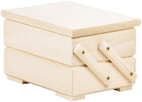 Costurero pequeño – Costurero Costurero Costurero (Caja de madera: Amazon.es: Hogar