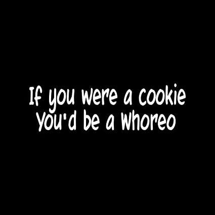 slut cookie Black