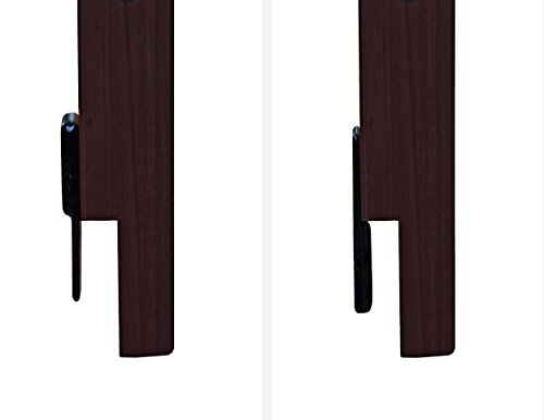 """Safety Rail Guard for Beds and Bunk Beds 1006 by Palace Imports, Java, 14.75""""H x 42.75""""W, 2""""x 2"""" Posts"""