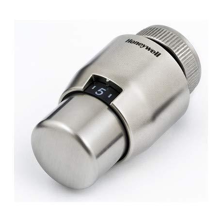 Honeywell Thera 200 design T4111 Testa Termostatica spazzolato//spazzolato