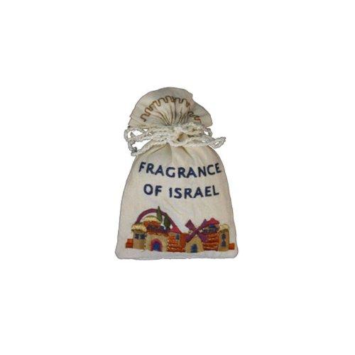(Yair Emanuel Havdalah Spice Bag and Cloves with Jerusalem Design)