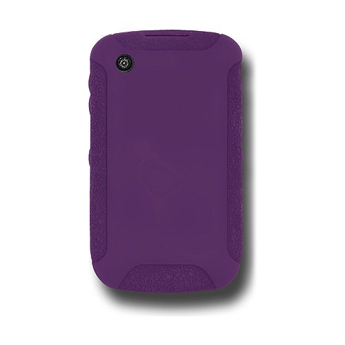 Jelly Case for BlackBerry Curve 3G 9300, Curve 8520, and Curve 8530 - Purple ()